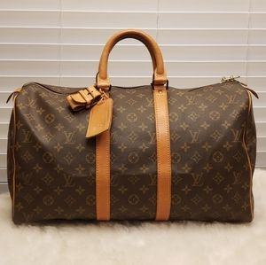 Louis Vuitton Keepall 45 Travel Handbag